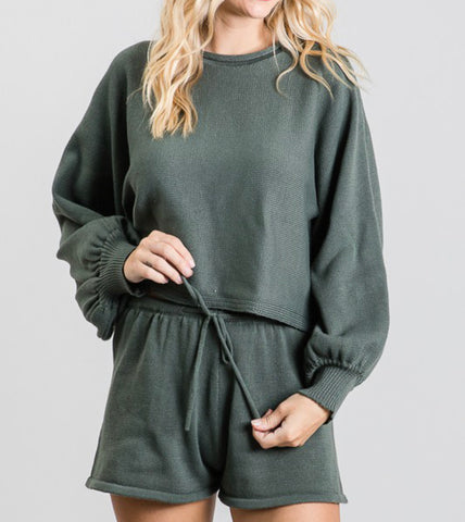 Stay Home Loungewear Top