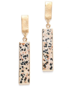 Set it Straight Earrings in Neutral