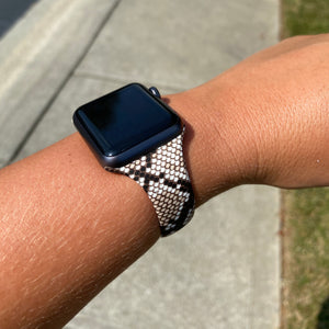 Snakeskin Apple Watch Bands