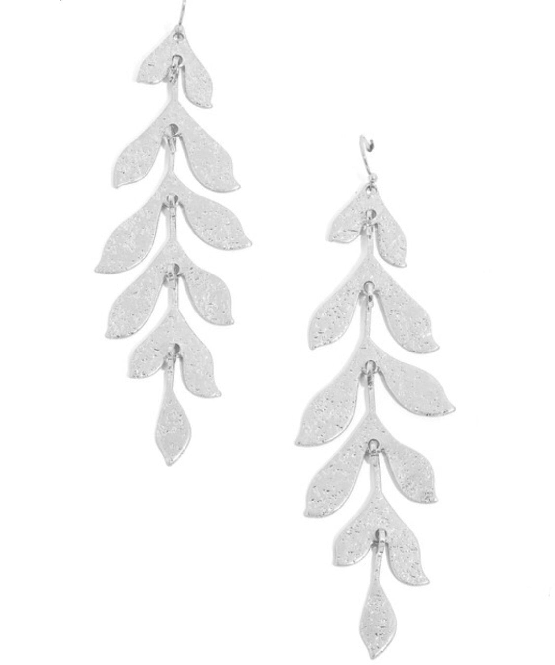 You're Vine Earrings in Silver