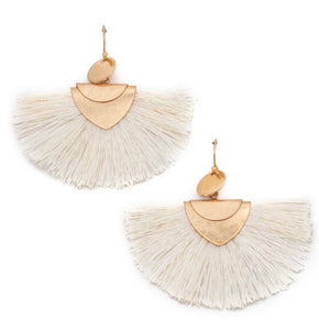 Watch Me Ivory Earrings