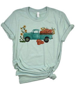Fall Truck Graphic Tee