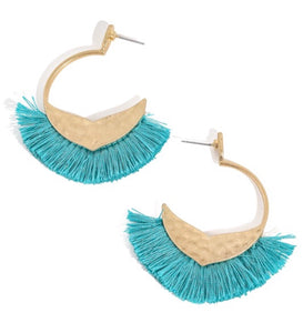 Make A Move Earrings in Teal