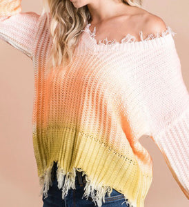 Sway to Me Sweater in Orange