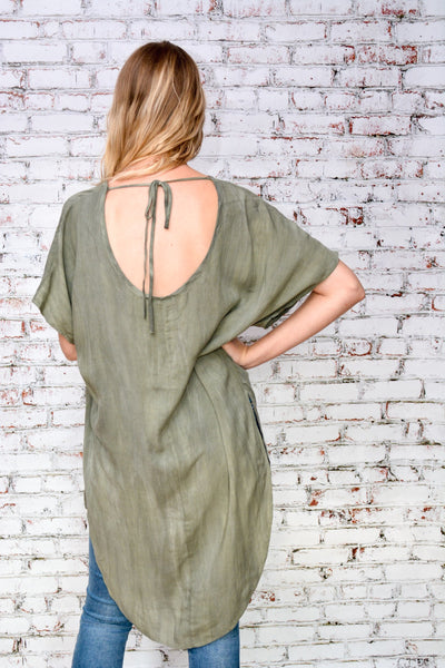 Up in Smoke Tunic