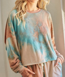 Mint Mocha Loungewear Top
