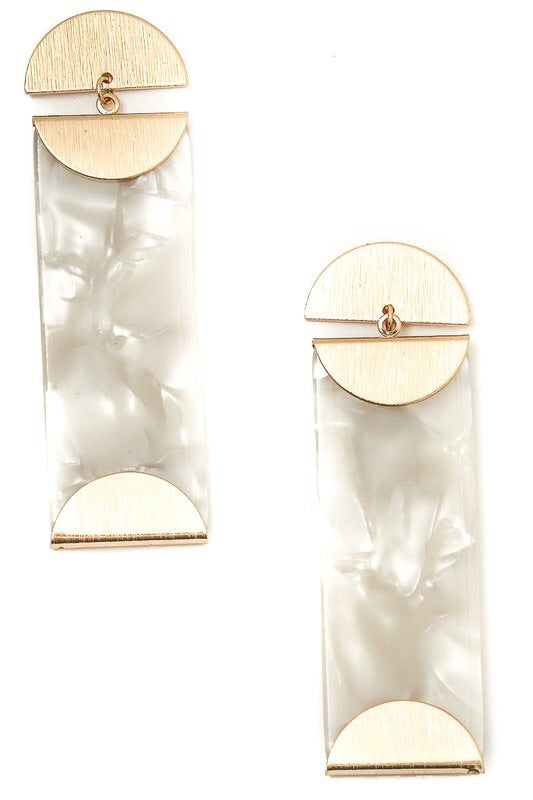 Keep It Straighter Earrings