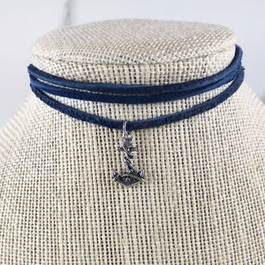 Anchor Suede Choker