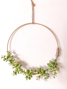 So Natural Wreath - 10 inch