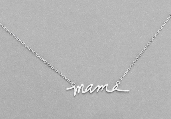 Mama Mini Necklace
