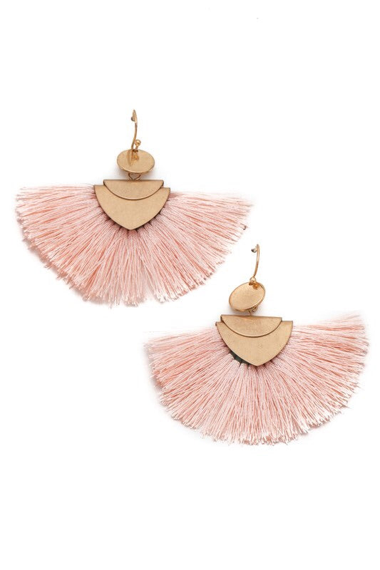 Watch Me Blush Earrings