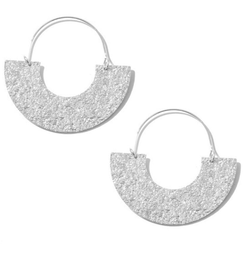 Silver Road Earrings