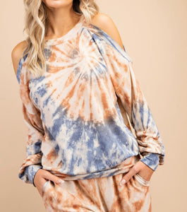 Citrus Burst Loungewear Top