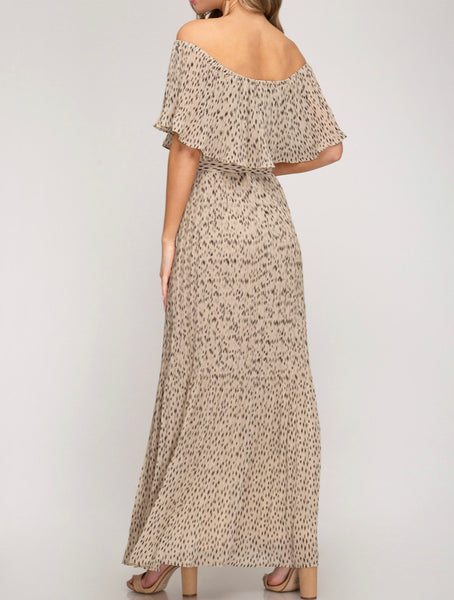 With the Flow Maxi Dress