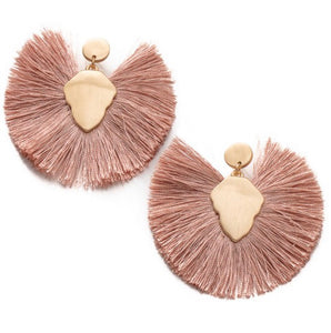 Request More Earrings in Blush