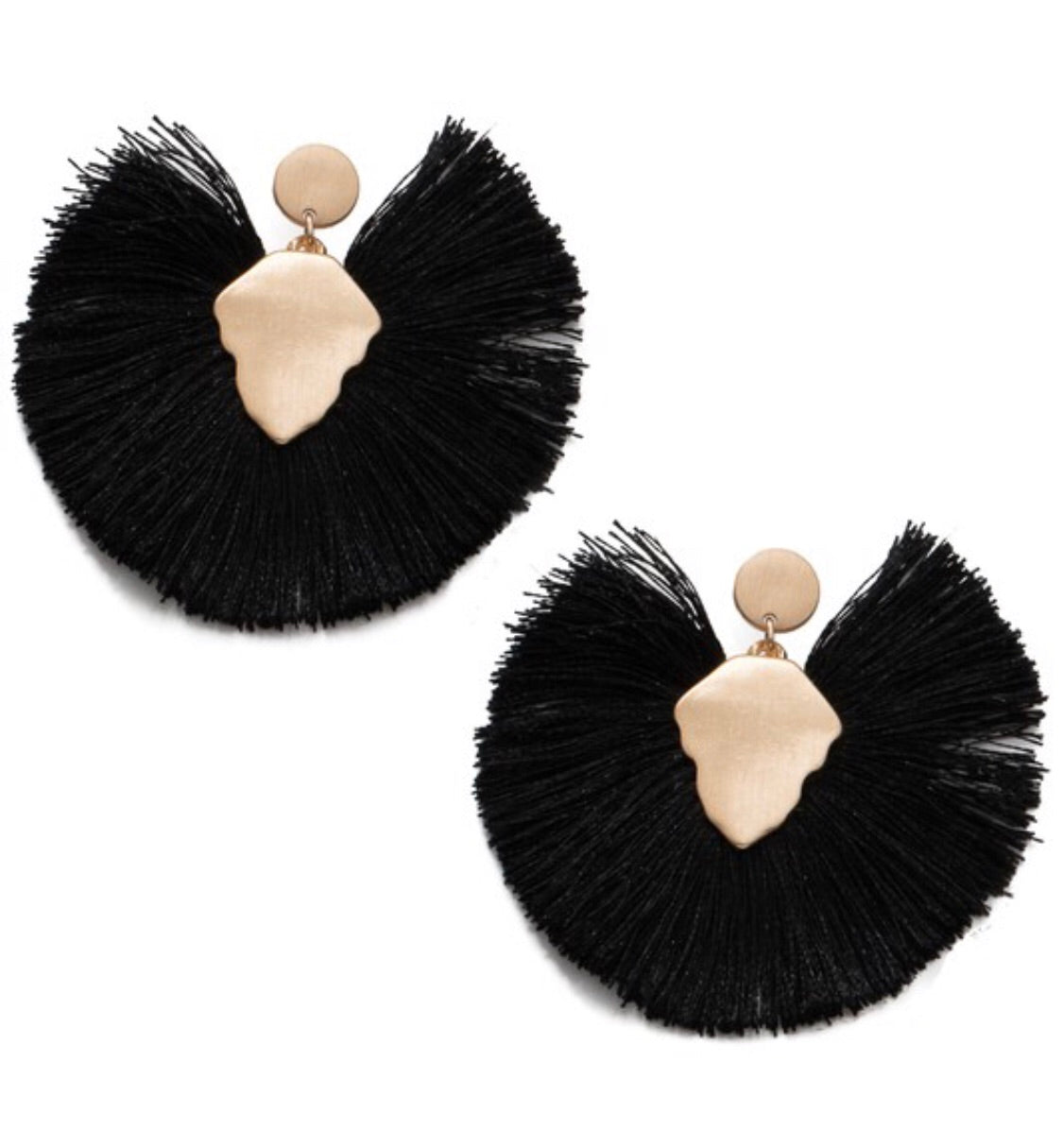 Request More Earrings in Black