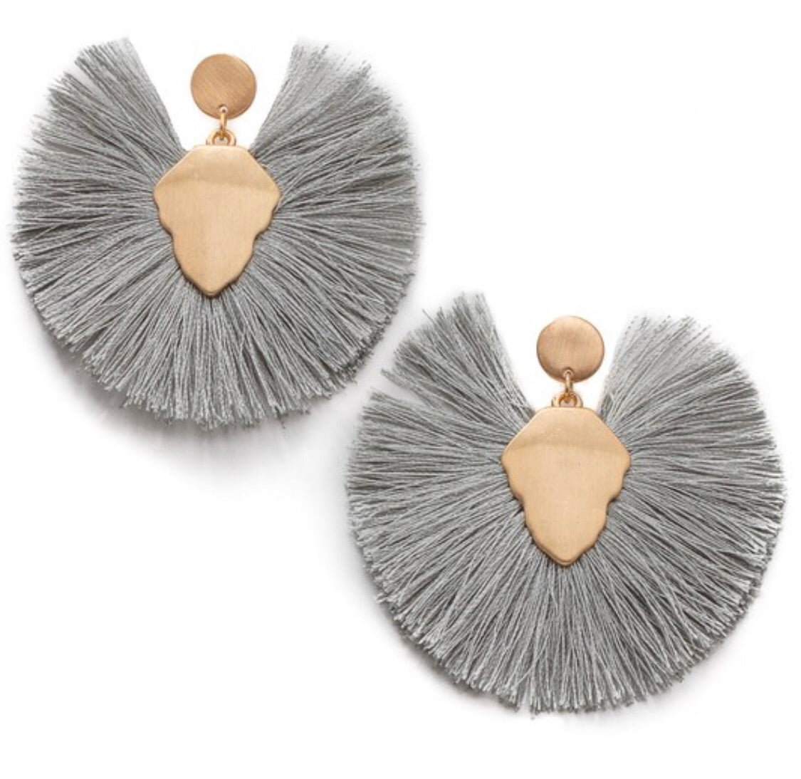 Request More Earrings in Gray
