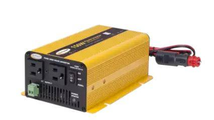 Go Power! 150 Watt Pure Sine Wave Inverter GP-SW150 - Adventure RV Solar, Inverters - RV Solar, Go Power!- Adventure RV Solar