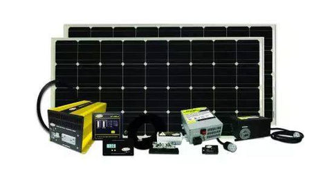 Go Power! Solar Elite Charging System 320 Watt SOLAR ELITE-320 - Adventure RV Solar, RV Solar Panel Kits - RV Solar, Go Power!- Adventure RV Solar