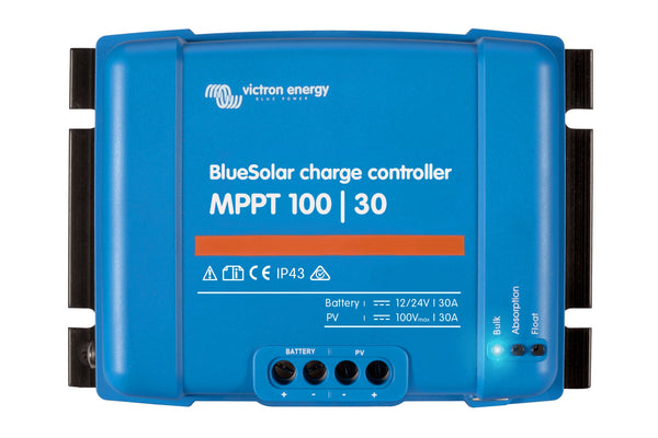 Controllers - BlueSolar Charge Controller MPPT 100/30 SCC020050200