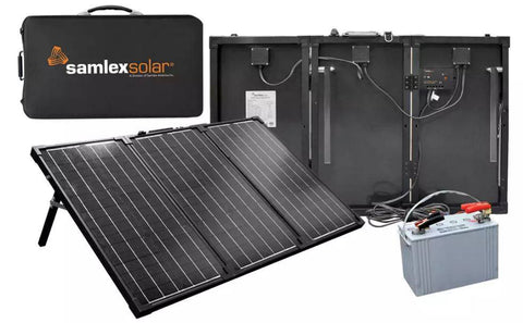 Samlex 90 Watt Portable Charging Kit MSK-90 - Adventure RV Solar, Portable Solar Panels - RV Solar, Samlex- Adventure RV Solar