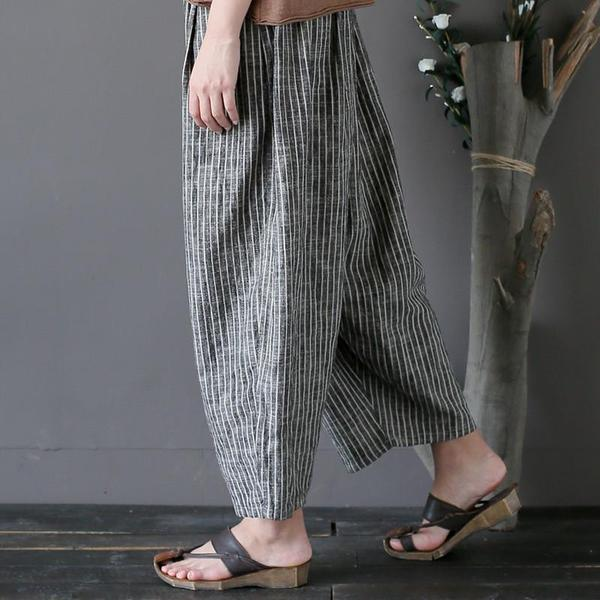 Holly Linen Harem Pants