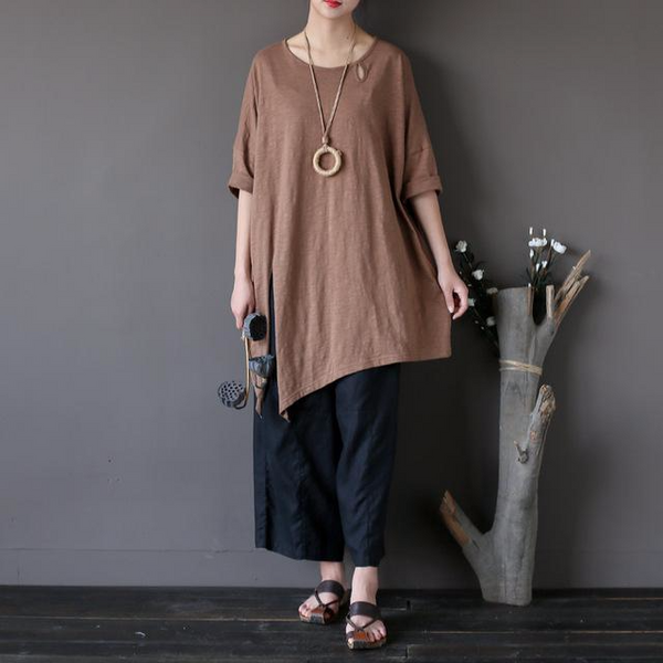 Maya Lagenlook Loose Fit Tunic