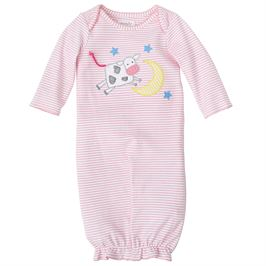 PINK COW OVER THE MOON CONVERTIBLE GOWN