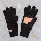 CC Cable Knit Gloves