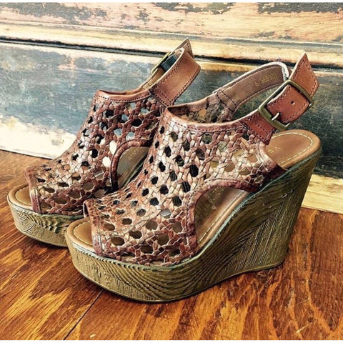 Sunshine Espadrille Wedge