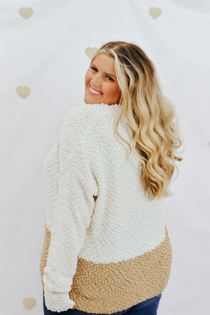 Warm Wishes Sweater, Cream