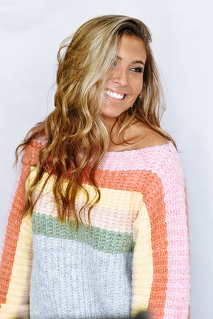 Be Bright Sweater, Rainbow Cake