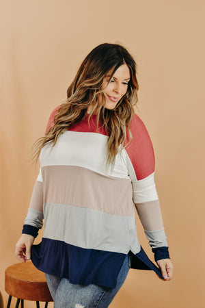 All Day Striped Top