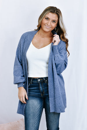 Sophie Super Soft Cardi, Blue