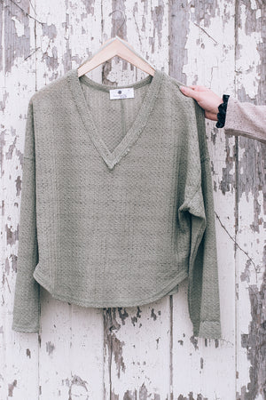 Light Basic Knit, olive