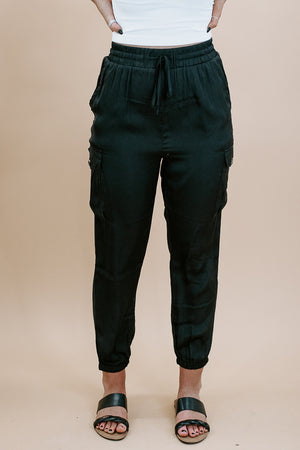 Carry On Cargo Pant, Black