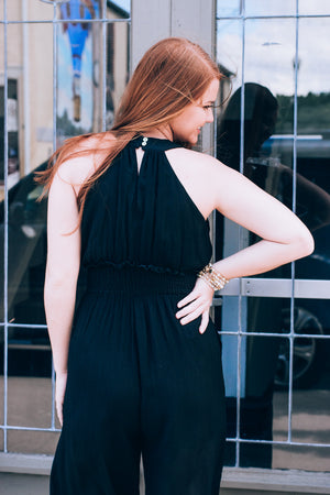 Nothing But Happy  Jumpsuit , black