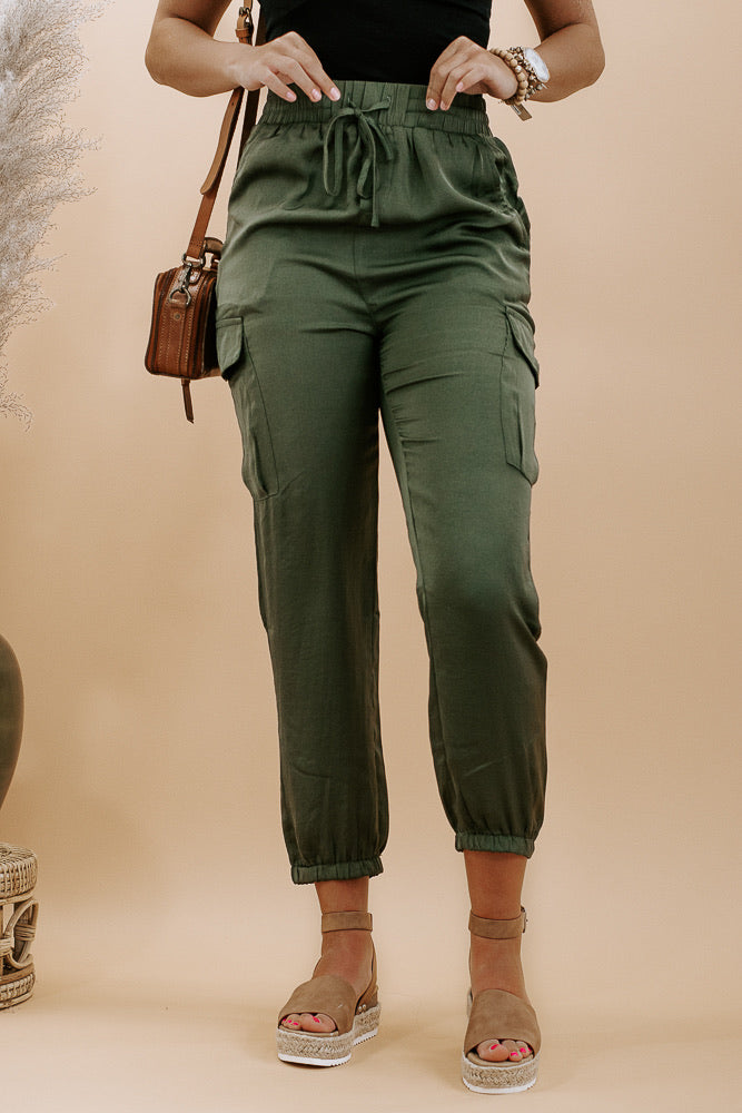 Carry On Cargo Pant, Olive