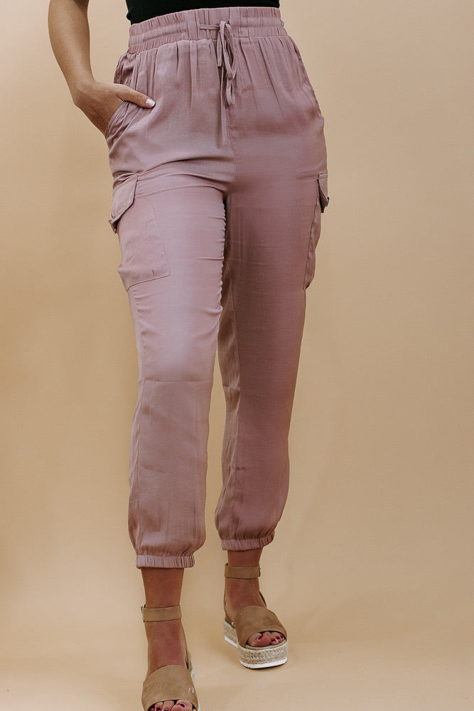 Carry On Cargo Pant, Mauve