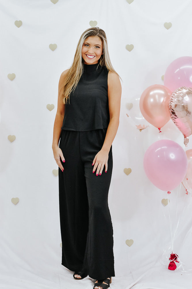 Be You Jumpsuit, Black