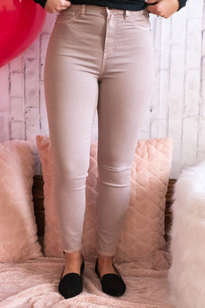 Maggie's Muave High Rise Jegging
