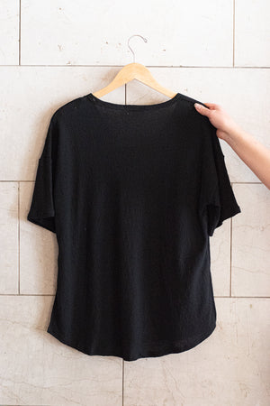 All I Want Basic Tee , Black