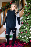 Winter Heart Sweater Tunic