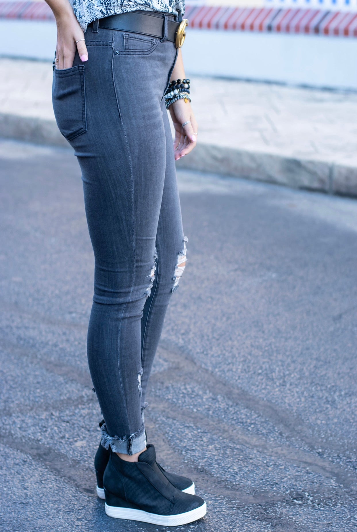 Aiden Grey Wash Jean