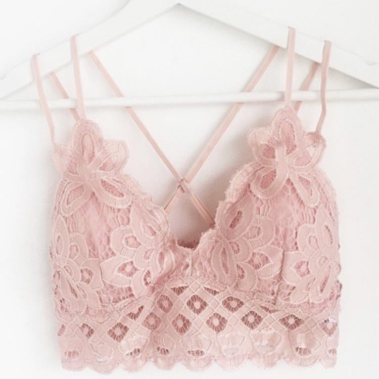 Opening Day Bralette, Blush