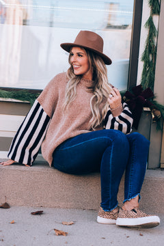 All Weekend Long Sweater, Taupe