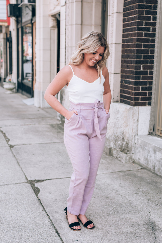 Groundbreaking Lavender Jumpsuit