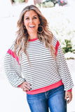 Lost In Paris Striped Top