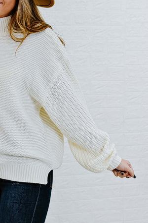 Chasing Dreams Sweater, Ivory
