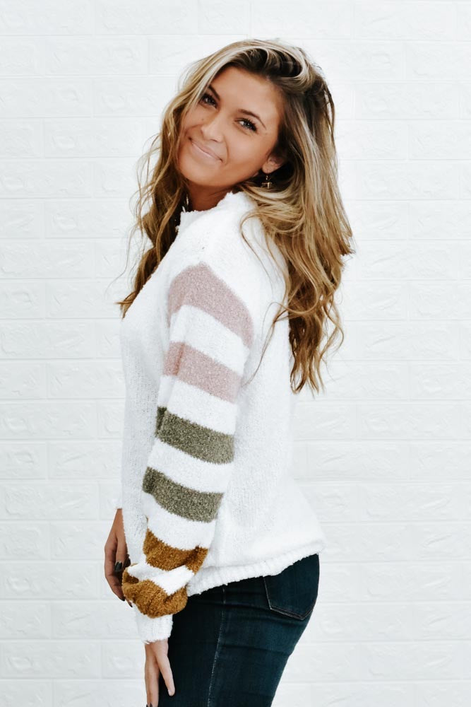 Out & About Sweater, Ivory